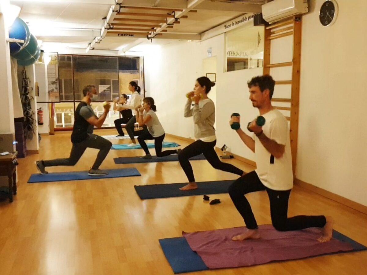 Pilates con Pesas (Clase completa)
