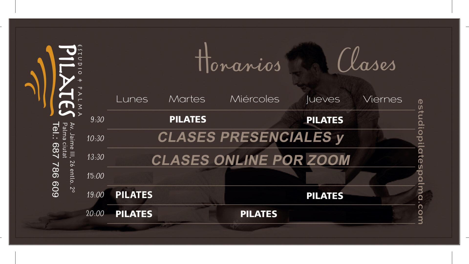Horarios Pilates