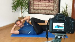 Pilates en casa 11