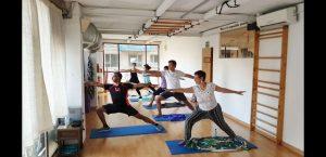 Clase de Pilates Yoga