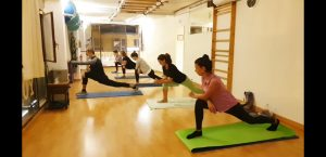 Pilates Mat (piernas y gluteos)