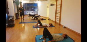 Pilates Mat. Estudio Pilates Palma