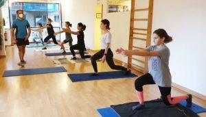 Pilates Mat. Fuerza, flexibilidad y equilibrio.