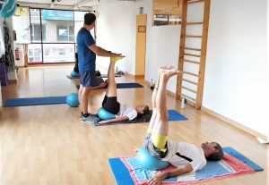 Pilates con SoftBall